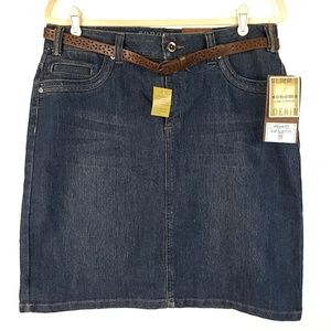 SONOMA Denim Skirt with Belt